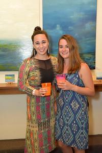 Claire Neuner and Gina Barsanti