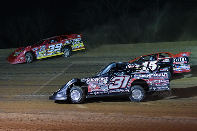 Nick Latham (31), Steve Francis (15) and Tim McCreadie (39)