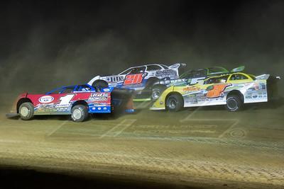 Earl Pearson, Jr. (1), Duane Chamberlain (20C), Dustin Linville (D8), and Brandon Sheppard (B5)