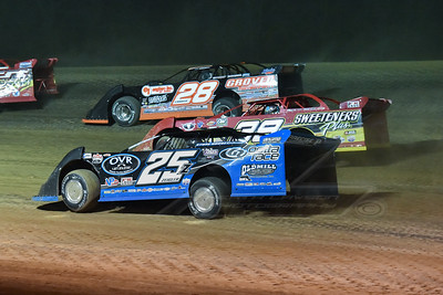 Mason Zeigler (25Z), Tim McCreadie (39) and Eddie Carrier, Jr. (28)