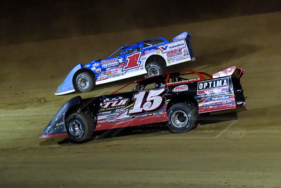 Steve Francis (15) and Josh Richards (1)