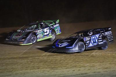 Scott Bloomquist (0) and Brandon Sheppard (B5)