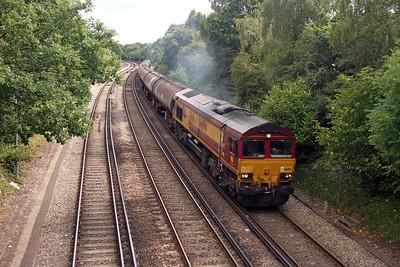 66194 Farnham 29/08/16 6Y32 Fawley to Holybourne