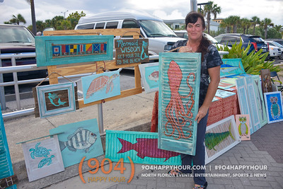 Jax Beach Art Walk - 8.9.16
