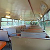Preserved ECW bodied Bristol VR XAP638S interior at the Amberley Heritage Centre.