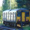 GWR Class 150 Sprinter no. 150202 at Cheltenham Spa.