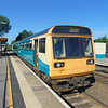 Arriva Trains Wales Class 142 Pacer no. 142081 at Lydney on a service to Maesteg.