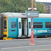 Arriva Trains Wales Class 158 Express Sprinter no. 158824 at Birmingham International.
