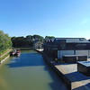 The recently redeveloped Marsworth Wharf.
