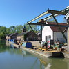 Bulbourne canal works on the Grand Union.