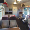 London Midland Class 319 no. 319441 first class interior at Bletchley.