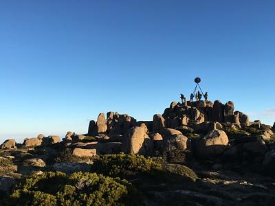 Mt Wellington. It's 4000' above Hobart.