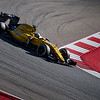 Kevin Magnussen gets on with the program during Free Practice 3. Saturday, October 22, 2016. United States Grand Prix. Circuit of the Americas, Turn 15. Austin, Texas.