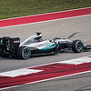 Lewis Hamilton cruises to a win in Austin after setting a new track lap record during Saturday's qualifying session. Sunday, October 23, 2016. United States Grand Prix. Circuit of the Americas. Austin, Texas.
