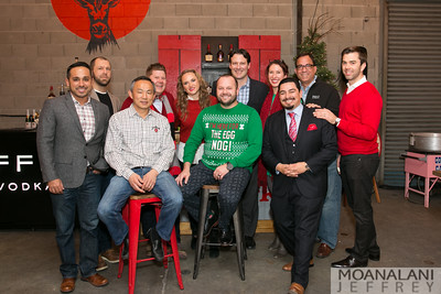 BEAM SUNTORY: HOLIDAY PARTY AT JOEY THE CAT ARCADE WAREHOUSE