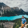 Me at Peyto Lake