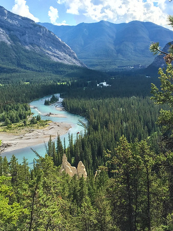 The hoodoo's and the bow river