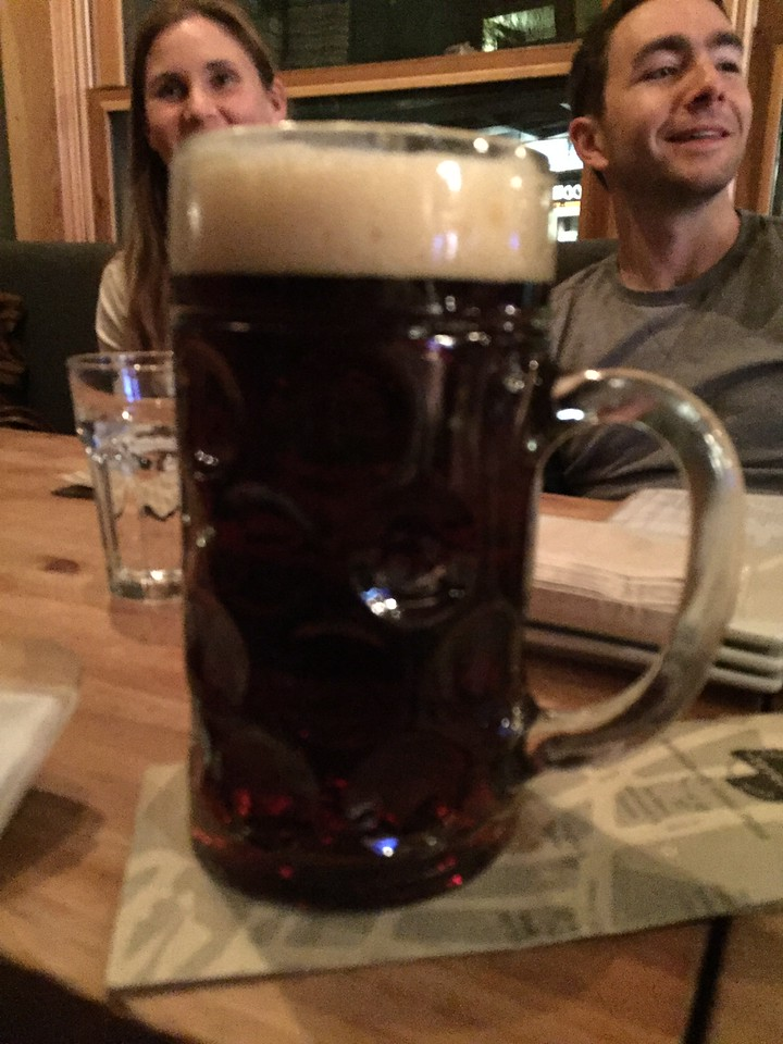 Beer. A full liter stein!