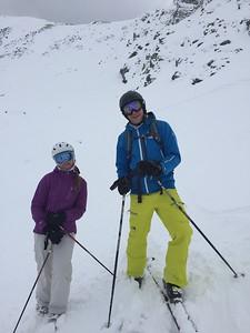 We just skied that!
