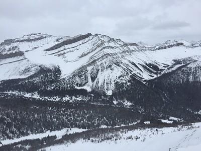 Amazing mountains at Lake Louise