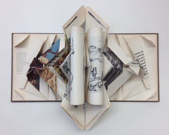 Book Origami at TRHS