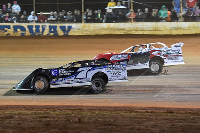 Jared Landers (777) and Randy Weaver (116)