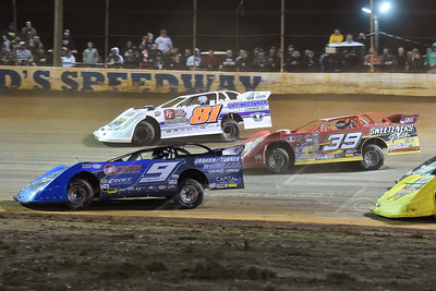 Jason Croft (9), Tim McCreadie (39), and Aaron Ridley (81)