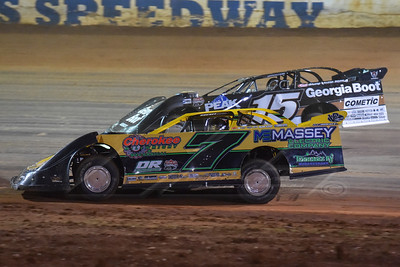 Donald McIntosh (7) and Darrell Lanigan (15)