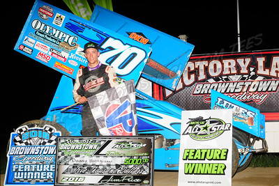 Aug. 27, 2016  Arctic Cat All-Star Circuit of Champions Sprint Car, ILMS, Mods