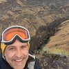 0315 Lyle over Bruneau river canyon