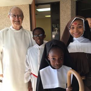 """Msgr. Gauthreaux and """"saints"""""""