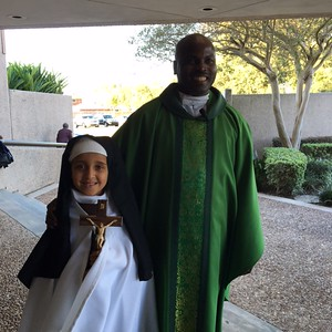 "Fr. Cyril and ""saint"""
