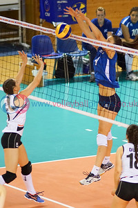 Scotland 3 v 0 Northern Ireland (13, 4, 11), Women's 2017 CEV Volleyball European Championship (Small Countries Division), d'Coque, Luxembourg, Sat 25 Jun 2016.  © Michael McConville  http://www.volleyballphotos.co.uk/2016/CEVFIVB/20160624-scd-championships/20160625-SCO-NIR