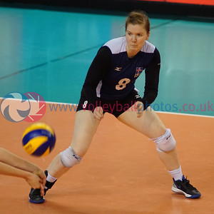 Iceland 3 v 0 Scotland (25-21, 25-14, 25-17), Women's 2017 CEV Volleyball European Championship (Small Countries Division), d'Coque, Luxembourg, Fri 24 Jun 2016.  © Michael McConville   http://www.volleyballphotos.co.uk/2016/CEVFIVB/20160624-scd-championships/ISL-SCO