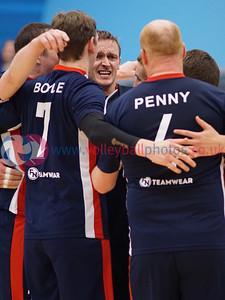 CEV Challenge Cup, City of Edinburgh 0 v 3 Viking TIF Bergen (18, 15, 21), Oriam, Heriot Watt University, Edinburgh, Wed 21st Dec 2016. © Michael McConville http://www.volleyballphotos.co.uk/2016/CEVFIVB/20161221-CoE-Viking