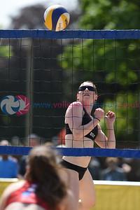 SCD European Beach Volleyball Finals, Bells Sports Centre, 4 June 2016.  © Lynne Marshall  http://www.volleyballphotos.co.uk/2016/CEVFIVB/SCD-BVB-Finals/Day2