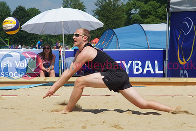 CEV SCD Beach Volleyball Zonal Event, North Inch, Perth, Sun 5th Jun 2016.   © Michael McConville   http://www.volleyballphotos.co.uk/2016/CEVFIVB/SCD-BVB-Finals/Day3