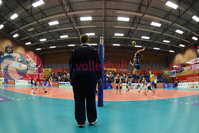 CYP 3 v 0 SCO (25-15, 25-15, 25-15), CEV 2016 European Championships - U19 Women's Finals, University of Edinburgh, Centre for Sport and Exercise, 3 April 2016.  © Lynne Marshall  http://www.volleyballphotos.co.uk/2016/CEVFIVB/SCD-U19W/CYP-SCO/