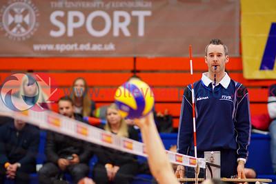 FAR 2 v 3 LUX (8-25, 25-23, 25-23, 22-25, 9-15), CEV 2016 European Championships - U19 Women's Finals, University of Edinburgh Centre for Sport and Exercise, Fri 1 Apr 2016.  © Michael McConville  http://www.volleyballphotos.co.uk/2016/CEVFIVB/SCD-U19W/FAR-LUX