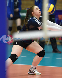 FAR 0 v 3 SCO (27, 24, 17), CEV 2016 European Championships - U19 Women's Finals, University of Edinburgh, Centre for Sport and Exercise, 2 April 2016.   © Lynne Marshall   http://www.volleyballphotos.co.uk/2016/CEVFIVB/SCD-U19W/FAR-SCO