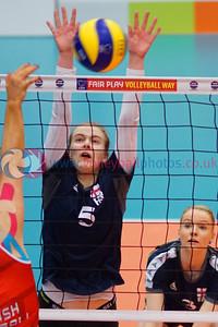 FAR 0 v 3 SCO (27-29, 24-26, 2), CEV 2016 European Championships - U19 Women's Finals, University of Edinburgh Centre for Sport and Exercise, Sat 2 Apr 2016.  © Michael McConville  http://www.volleyballphotos.co.uk/2016/CEVFIVB/SCD-U19W/FAR-SCO