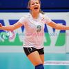 "NIR 0 v 3 CYP (3, 8, 5), CEV 2016 European Championships - U19 Women's Finals, University of Edinburgh Centre for Sport and Exercise, Fri 1 Apr 2016. <br /> © Michael McConville <br /> <a href=""http://www.volleyballphotos.co.uk/2016/CEVFIVB/SCD-U19W/NIR-CYP"">http://www.volleyballphotos.co.uk/2016/CEVFIVB/SCD-U19W/NIR-CYP</a>"