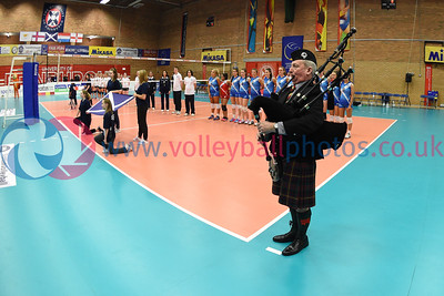 SCO 3 v 0 NIR (13, 7, 10), CEV 2016 European Championships - U19 Women's Finals, University of Edinburgh, Centre for Sport and Exercise, 1 April 2016.  © Lynne Marshall   http://www.volleyballphotos.co.uk/2016/CEVFIVB/SCD-U19W/SCO-NIR
