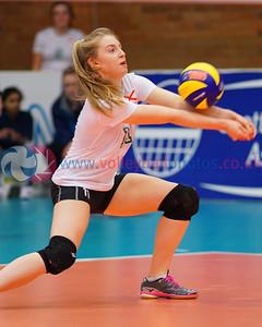 SCO 3 v 0 NIR (13, 7, 10), CEV 2016 European Championships - U19 Women's Finals, University of Edinburgh Centre for Sport and Exercise, Fri 1 Apr 2016.  © Michael McConville  http://www.volleyballphotos.co.uk/2016/CEVFIVB/SCD-U19W/SCO-NIR