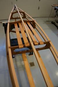 Seat slats from below