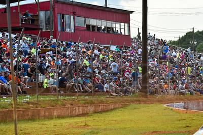 Cherokee Speedway crowd