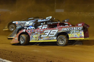 Tim McCreadie (39), Darrell Lanigan (15) and Jonathan Davenport (6)