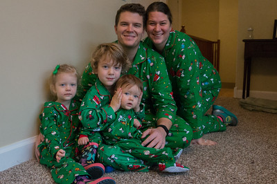 Family Christmas PJ's brought to us by Naybraham for the polar express
