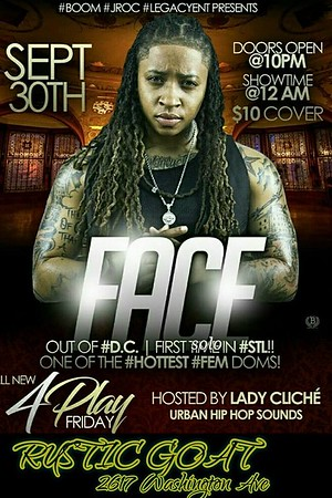 Chuck Pfoutz Presents: Legacy Ent. and Face 2016