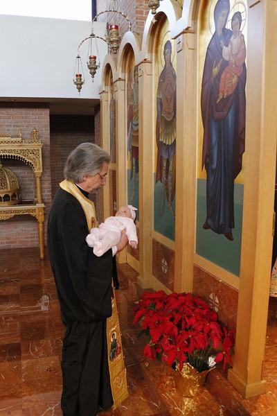 Churching of Eleni Grace Pathenos